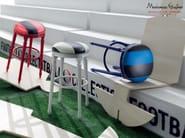 Personalized stool paddings customizable fabric - Football Collection - Modenese Gastone