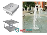 Metal Fountain Wed Energy Saver Cascade - WED