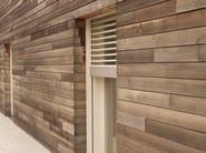 Wooden solar shading Wooden solar shading - CARMINATI SERRAMENTI