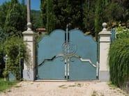 Iron gate Wrought iron gate 3 - Garden House Lazzerini
