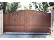 Iron gate Wrought iron gate 6 - Garden House Lazzerini