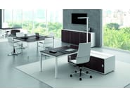 Executive desk X4 | Executive desk - Quadrifoglio Sistemi d'Arredo