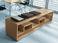 Office storage unit / office shelving XEON | Low office shelving - BALMA