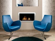 Swivel fabric armchair with 4-spoke base with armrests XIS USUAL - SMV Sitz- und Objektmöbel