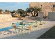 Stackable aluminium garden chair YARD | Chair - EMU Group S.p.A.