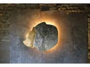 LED indirect light metal wall light YAYA - Hind Rabii