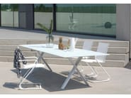 Cantilever garden chair with armrests Z-CHAIR - Joli