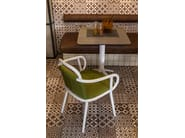 Fabric restaurant chair with armrests ZANTILAM 02 - Very Wood