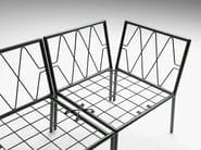 Sectional synthetic fibre sofa Zero - Metalmobil