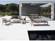 Recliner fabric garden daybed ZIDIZ | Garden daybed - ROYAL BOTANIA