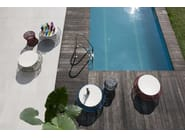 Low round coffee table ZIGGY XL - Saba Italia