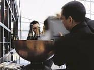 Zinc serving bowl ZINC HALF BOWL   Zinc serving bowl - Domani
