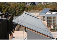 Continuous metal laminate for roof ZINTEK® | Continuous metal laminate for roof - ZINTEK