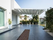 Sliding awning with guide system A100 LINEAR - KE Outdoor Design