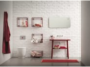 Wall-mounted bathroom mirror with integrated lighting ACQUA E SAPONE BATH | Mirror - Birex