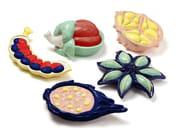 Contemporary style ceramic decorative object AFRICAN SEED | Ceramic decorative object - Mambo Unlimited Ideas