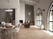 Full-body porcelain stoneware flooring with stone effect AGORÀ | Flooring - Ceramiche Marca Corona