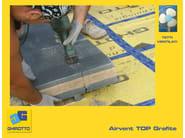 Ventilated roof system AIRVENT TOP GRAFITE VENTILATO - GHIROTTO TECNO INSULATION