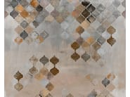 Motif bathroom wallpaper ALADINO - Wall&decò