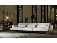 4 seater leather sofa ALBACHIARA | 4 seater sofa - Max Divani