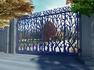 Swing Motorized iron gate ALBERI 2655 - Fabbridea