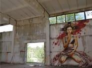 Panoramic wallpaper ALICE - Inkiostro Bianco