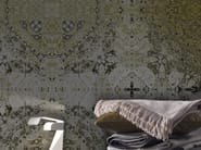 Motif panoramic wallpaper ALMATÌ - Inkiostro Bianco