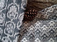 Jacquard fabric with graphic pattern ALPAGE CHALET - l'Opificio