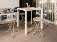 Square garden table ALTEA   Square table - iSimar
