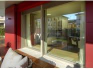 Aluminium and wood patio door ALU 90 | Patio door - CARMINATI SERRAMENTI