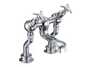 2 hole chromed brass bathtub tap with aerator ANGLESEY REGENT | Bathtub tap with aerator - Polo