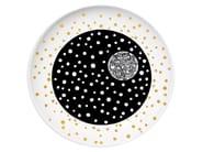 Ceramic dinner plate APOLOGY - Kiasmo