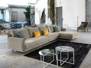 Fabric sofa with chaise longue ARAKI | Sofa with chaise longue - Domingo Salotti