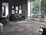 Pavimento in gres porcellanato effetto pietra per interni ed esterni ARCHEA | Pavimento - SICHENIA GRUPPO CERAMICHE