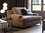 Fabric armchair MALTA | Armchair - Arketipo