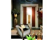 Velvet armchair with armrests AQVILA | Armchair - ELLEDUE ARREDAMENTI