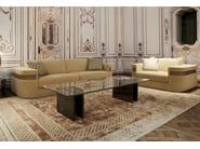Upholstered velvet armchair with armrests PORTALUPPI | Armchair - Formitalia Group