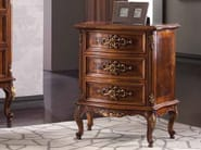 Rectangular bedside table with drawers ARMONIE | Briar bedside table - Arvestyle