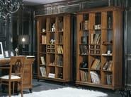 Freestanding wooden bookcase ARMONIE | Open bookcase - Arvestyle