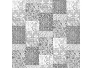 Motif wallpaper ARTS AND CRAFTS PATCHWORK BLACK&WHITE - Mineheart