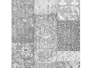 Carta da parati a motivi ARTS AND CRAFTS PATCHWORK BLACK&WHITE - Mineheart
