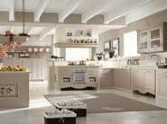 Classic style lacquered ash kitchen with handles ASOLO | Ash kitchen - DIBIESSE