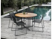 Garden chair with armrests ASTA | Chair with armrests - Gloster