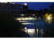 Aluminium underwater lamp for fountains for swimming pools ASTER F.5013 - Francesconi & C.