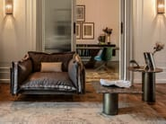 Fabric armchair AUTO-REVERSE | Armchair - Arketipo