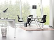 Swivel task chair with 4-Spoke base with armrests AYO | Task chair with 4-Spoke base - Wiesner-Hager