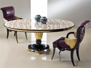 Lacquered oval living room table B110 | Table - Rozzoni Mobili d'Arte