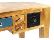 Rectangular wooden writing desk with drawers BABALOU EU | Writing desk - KARE-DESIGN