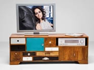 Lacquered wooden TV cabinet BABALOU | TV cabinet - KARE-DESIGN