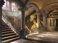 Panoramic wallpaper BACCANTE - Inkiostro Bianco
